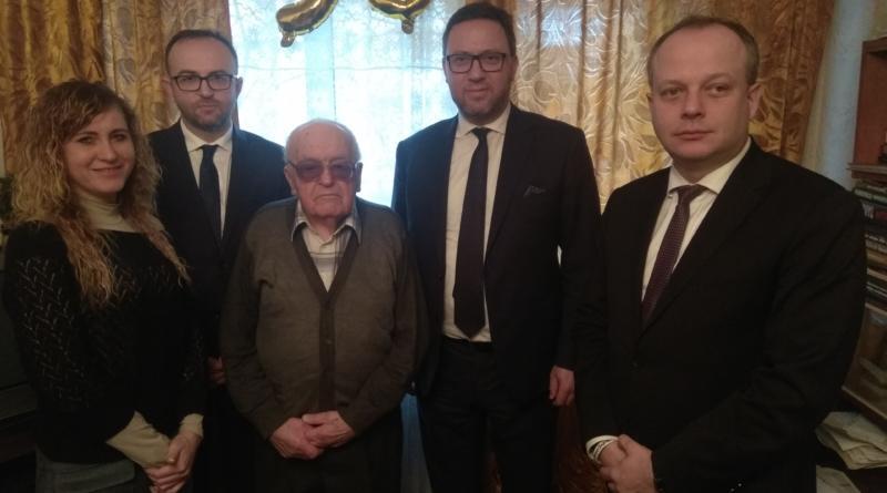 95 років гідного життя – доєднаємося до привітань Ветерана Другої Світової Війни!